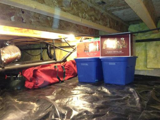 crawl space storage