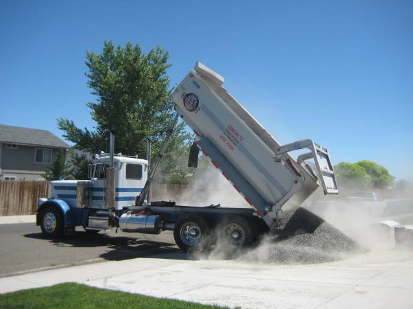 July 2012 diy project blog for Topsoil delivery